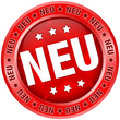 """Button """"NEU"""" rot"""