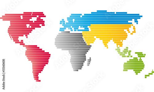 Lines Worldmap