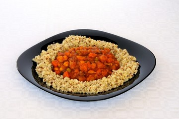 Vegetable Moroccan stew © Arena Photo UK