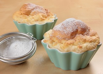 Salzburger Nockerl in cups