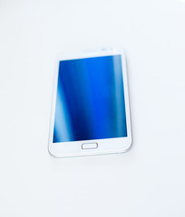 white model of samsung galaxy s2