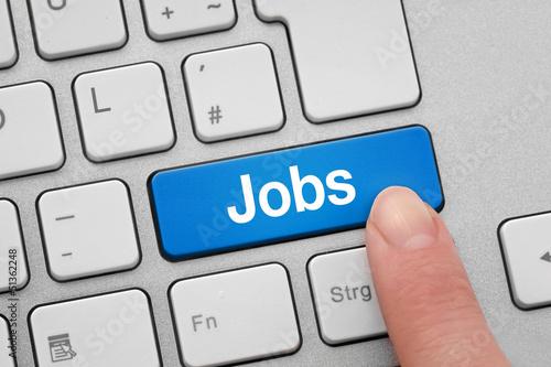 Tastatur mit Jobs