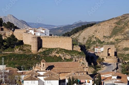 Arabic town wall and tower, Antequera, Spain © Arena Photo UK
