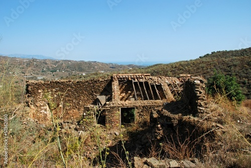 Farmhouse ruin, Andalusia, Spain © Arena Photo UK