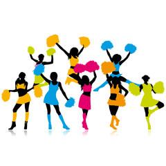 Color Cheerleaders