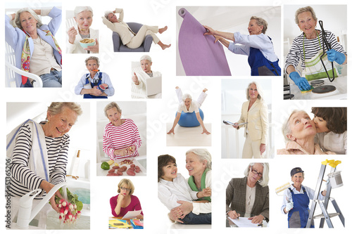 Retraite active des femmes  - Patchwork