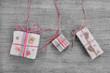 Rustikale Weihnachtsgeschenke