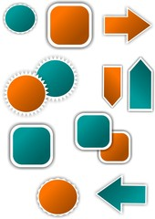 Color web vector graphic