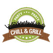 Button: Chill & Grill
