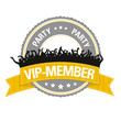 Button: Party VIP-Member