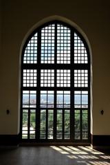 Big ottoman window in Topkapi Palace