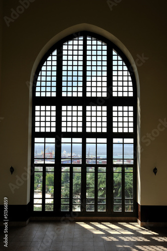 Big ottoman window in Topkapi Palace
