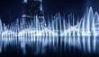 Leinwandbild Motiv Dubai fountain