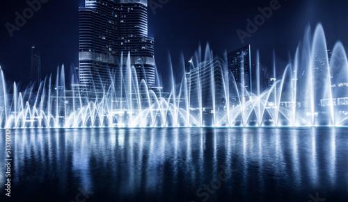 Poster Fontaine Dubai fountain