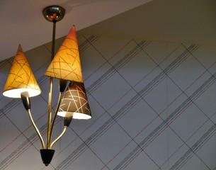 Lampe aus den 60er Jahren
