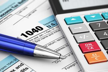 1040 US Tax Form