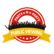 Button: Public Viewing