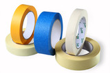 Sticky tapes, Adhesive Tapes, Single Coated, colored tape– paper