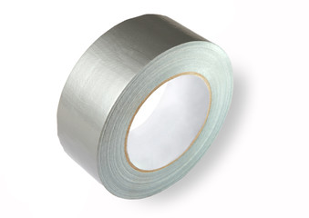 Water proof reinforced adhesive tpl tape (duct), gray color with