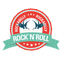 Button: Rockabilly Rock`n`Roll
