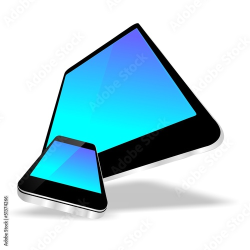 3D tablet smartphone