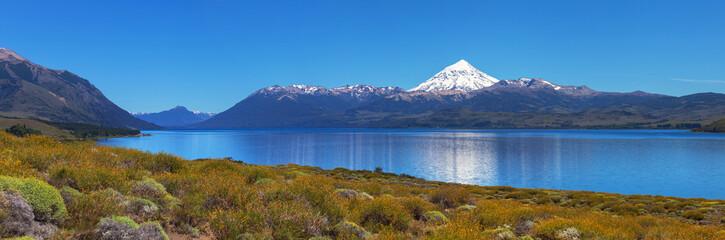 Lanin volcano, Patagonia, Argentina