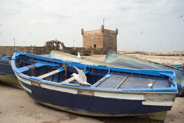 Forttress in Essaouira