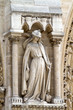 Sculptures of saints of Notre Dame de Paris