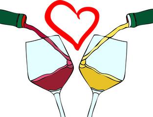 Amo il vino buono