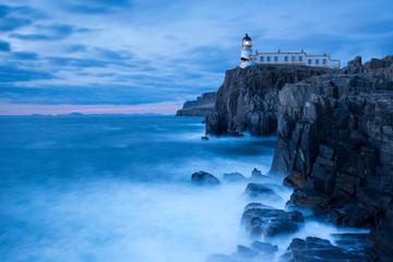 Neist Point Lighthouse , the Isle of Skye , Scotland