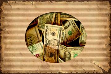 Vintage Label - Dollar I