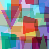 abstract colorful background, with triangles