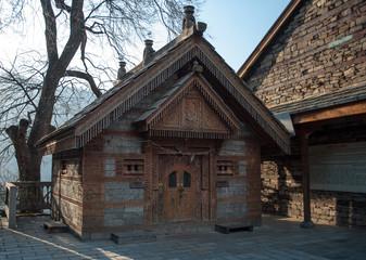Ancient temple in Naggar (Kullu valley)