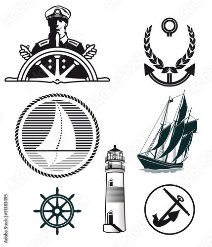 Maritime Zeichen