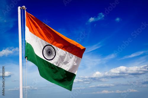 India flag of India