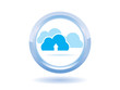 Cloud upload symbol