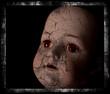 Spooky doll photograph.