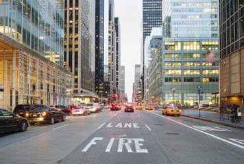 New York City from Street Level