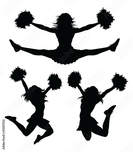 Fototapeta Cheerleaders
