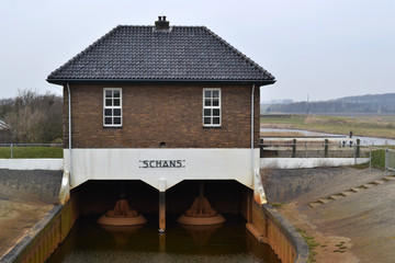 Pumping station Oude Schans on Texel.