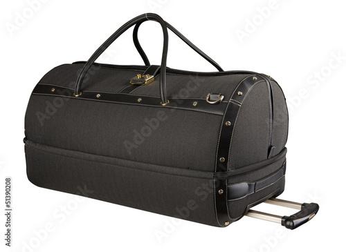 black suitcase