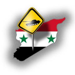 Vorsicht! Gefahr in Syrien!