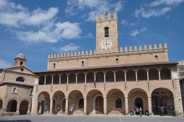 Offida, marche region, Town Hall