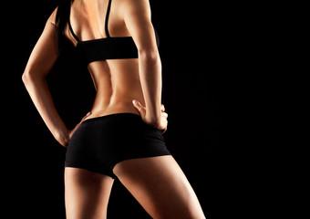 female back shot
