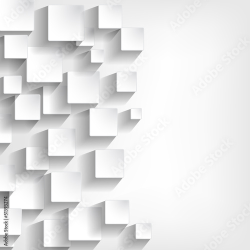 background with white squares