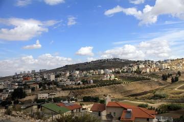 Nazareth cityscape Israel
