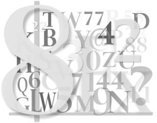 lettre et chiffres