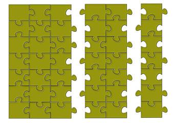Sarımsı Puzzle pazıl
