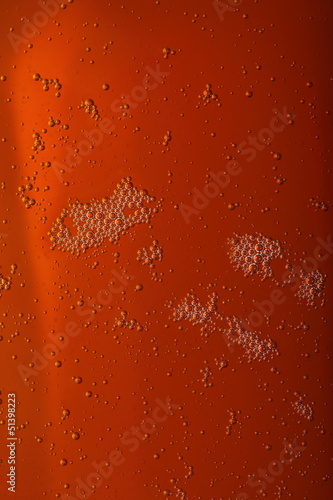 motor oil with bubbles texture background