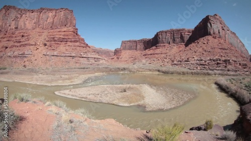 (1282) Colorado River Rafting near Moab Utah Canyonlands LOOP